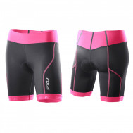 black synthetic pink
